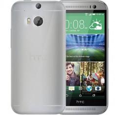 Husa Protectie Spate Celly GELSKIN398 transparenta pentru HTC One M8 - Husa Telefon