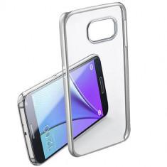 Husa Protectie Spate Cellularline CLEARCRYGALS7S Crystal Rigid Silver pentru Samsung Galaxy S7 - Husa Telefon