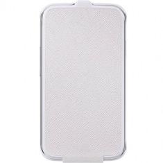 Husa Flip Cover Anymode FAEQ002KWH White pentru Samsung Galaxy Young 2 - Husa Telefon