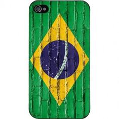 Husa Protectie Spate Muvit 92028 Brazil Wall Drawing pentru Apple iPhone 4 / 4S - Husa Telefon
