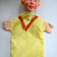 Papusa de teatru fetita - Ileana Cosanzeana -  cu cap de plastic, 10-14 ani