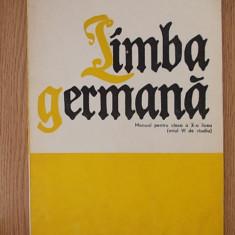 LIMBA GERMANA, MANUAL PENTRU CLASA A X-A LICEU - Curs Limba Germana Altele
