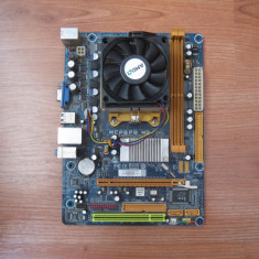 Kit Amd Biostar mcp6pb m2+ Procesor Athlon 7750 dual core 2.7ghz - Placa de Baza Biostar, Pentru AMD, AM2+, DDR2, Contine procesor, MicroATX