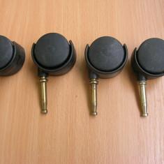 Set patru roti role mobila - accesoriu mobila