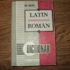 Dictionar Latin Roman de G. Gutu, editura stiintifica 1993 Altele