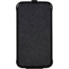 Husa Flip Cover Anymode FAEQ002KBK Black pentru Samsung Galaxy Young 2 - Husa Telefon