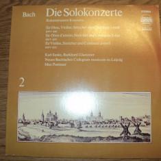BACH DIE SOLOKONZERTE - Vinil LP - Muzica Clasica Altele