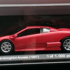 Macheta metal - Lamborghini Acosta 1997 - NOUA, Whitebox 1:43 (White Box) - Macheta auto
