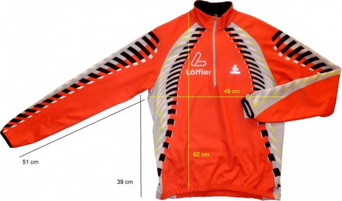 Bluza ciclism LOFFLER originala (M spre S) cod-171477 foto mare