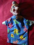 Marioneta Barbat cu scufie si nasul mare ,h= 26 cm