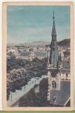 Bnk cp Orasul Stalin - Brasov - Vedere - circulata 1959 - marca fixa, Printata