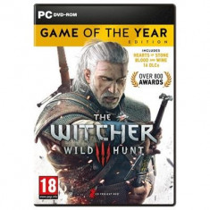 The Witcher 3 Wild Hunt Game Of The Year Pc - Joc PC CD PROJEKT RED, Role playing, 18+, Single player