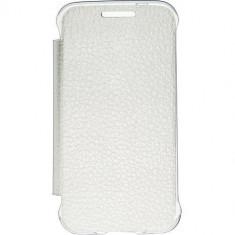 Husa Flip Cover Anymode fa00040kwh White pentru Samsung Galaxy Trend 2 Lite - Husa Telefon