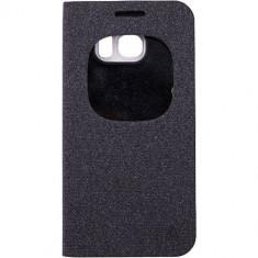 Husa Flip Cover Anymode FA00034KBK Agenda View Black pentru Samsung Galaxy S6 - Husa Telefon