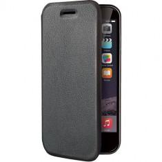 Husa Flip Cover Celly 107442 Folio Case neagra pentru Apple iPhone 6 - Husa Telefon Celly, iPhone 6/6S