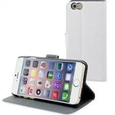 Husa Flip Cover Muvit 96885 Wallet alba pentru Apple iPhone 6 - Husa Telefon