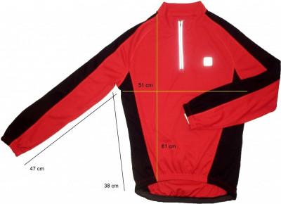 Bluza ciclism CRANE tesatura fagure, impecabila (S) cod-171587 foto