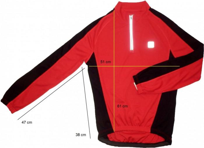 Bluza ciclism CRANE tesatura fagure, impecabila (S) cod-171587 foto mare