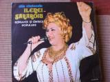 ileana sararoiu romante si cantece album disc vinyl lp muzica populara folclor