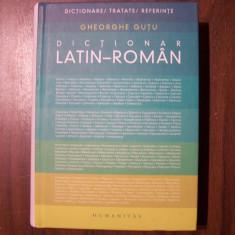 Dictionar latin-roman - Gh. Gutu (Humanitas, 2009) Peste 15.000 cuvinte-titlu