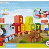 Jucarie Mega Bloks Junior Builders Thomas And Friends 1-2-3 Count Set 33 Pieces