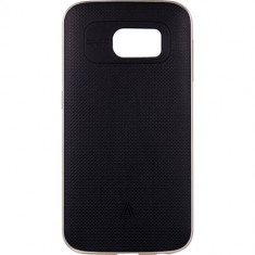 Husa Protectie Spate Anymode FA00008KGD Metal Bumper Plus Gold pentru Samsung Galaxy S6 - Husa Telefon