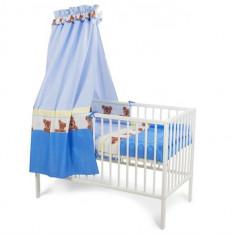 Baldachin Mykids Teddy Buline Albastru - Set mobila copii