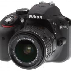 Pachet Aparat foto Nikon D3300 cu Trepied, Filtre, Grip, Rucsac, Full HD, Peste 16 Mpx, Kit (cu obiectiv)