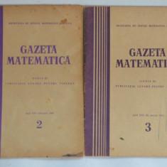 Gazeta matematica 1965 Nr.1, 4, 5, 6, 7, 12 - Culegere Matematica
