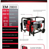 Generator monofazat 2500 W - Generator curent, Generatoare uz general