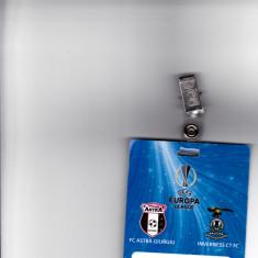 Acreditare meci fotbal ASTRA Giurgiu - INVERNESS CT FC Europa League - Bilet meci