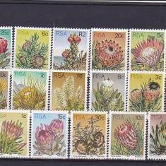 Flora locala Sud Africa. - Timbre straine, Nestampilat