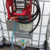 Bazin IBC pentru motorina cu pompa 12V