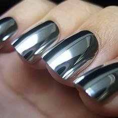 Pigment pudra unghii efect oglinda-set 3 nuante