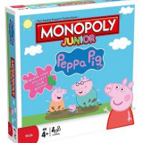 Joc Peppa Pig Jr Monopoly Board Game - Jocuri Board games