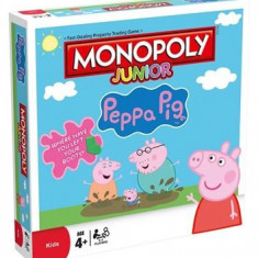 Joc Peppa Pig Jr Monopoly Board Game - Joc board game