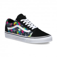 Shoes Vans Old Skool Rainbow Floral Black/True White