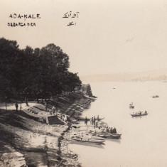 ORSOVA, INSULA ADA KALEH, DEBARCADER - Carte Postala Oltenia dupa 1918, Necirculata, Fotografie
