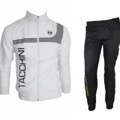 Trening Sergio Tacchini Fas - Bluza si pantaloni conici - Modele NOI -gen adidas - Trening barbati, Marime: XXL, Culoare: Din imagine