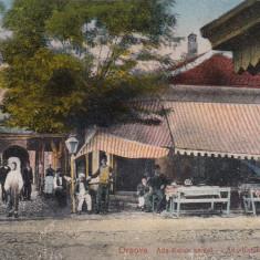 ORSOVA, INSULA ADA KALEH, STRADA CU CAFENEA, CIRCULATA 1926 - Carte Postala Oltenia dupa 1918, Printata
