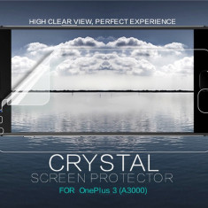 Folie OnePlus 3 A3000 Transparenta by Nillkin