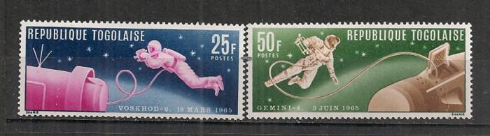 Togo.1965 Cosmonautica  ST.650 foto mare