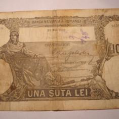 100 lei 1932 - Bancnota romaneasca