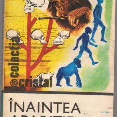 (C6880) DAN I. GRIGORESCU - INAINTEA APARITIEI OMULUI - Carte Biologie