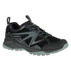 Pantofi barbatesti Merrell Capra Bolt Leather WTPF Black (MRL-J35811-BLK) - Adidasi barbati Merrell, Marime: 43, 44, 45, 46, Culoare: Negru