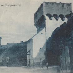 AIUD, STRADA BASTIONULUI - Carte Postala Transilvania dupa 1918, Necirculata, Printata