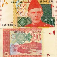 PAKISTAN 20 rupees 2015 UNC!!!