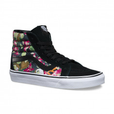 Shoes Vans SK8-Hi Reissue Lime in the Coconut Black