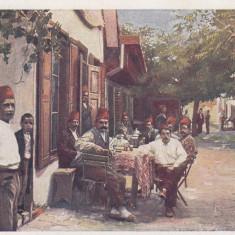 ORSOVA, INSULA ADA KALEH, STRADA CU CAFENEA - Carte Postala Oltenia dupa 1918, Necirculata, Printata