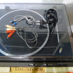 Pick-up Technics SL-DD33 Direct Drive, full-automatic, manual, poze reale - Pickup audio